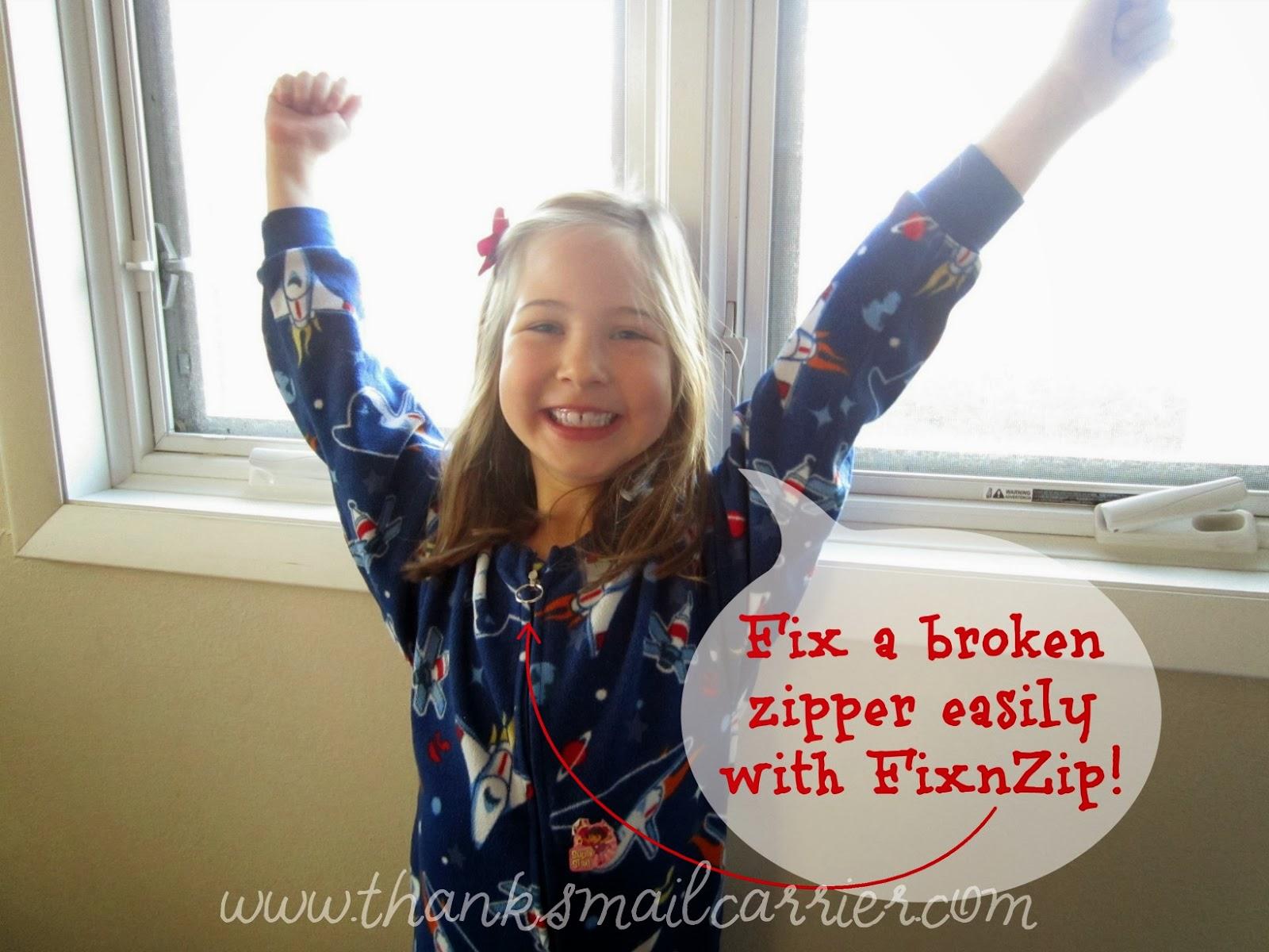 fix a broken zipper
