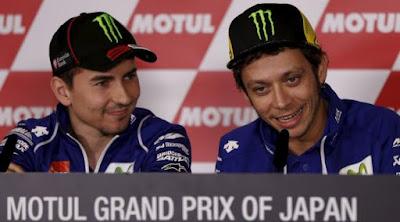 [Sports] Soal Rivalitas dengan Rossi, Lorenzo: Itu Memang Ada