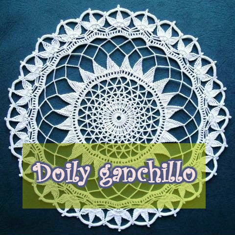 Delicadezas en crochet Gabriela: Carpeta de hilo de algodón en ganchillo