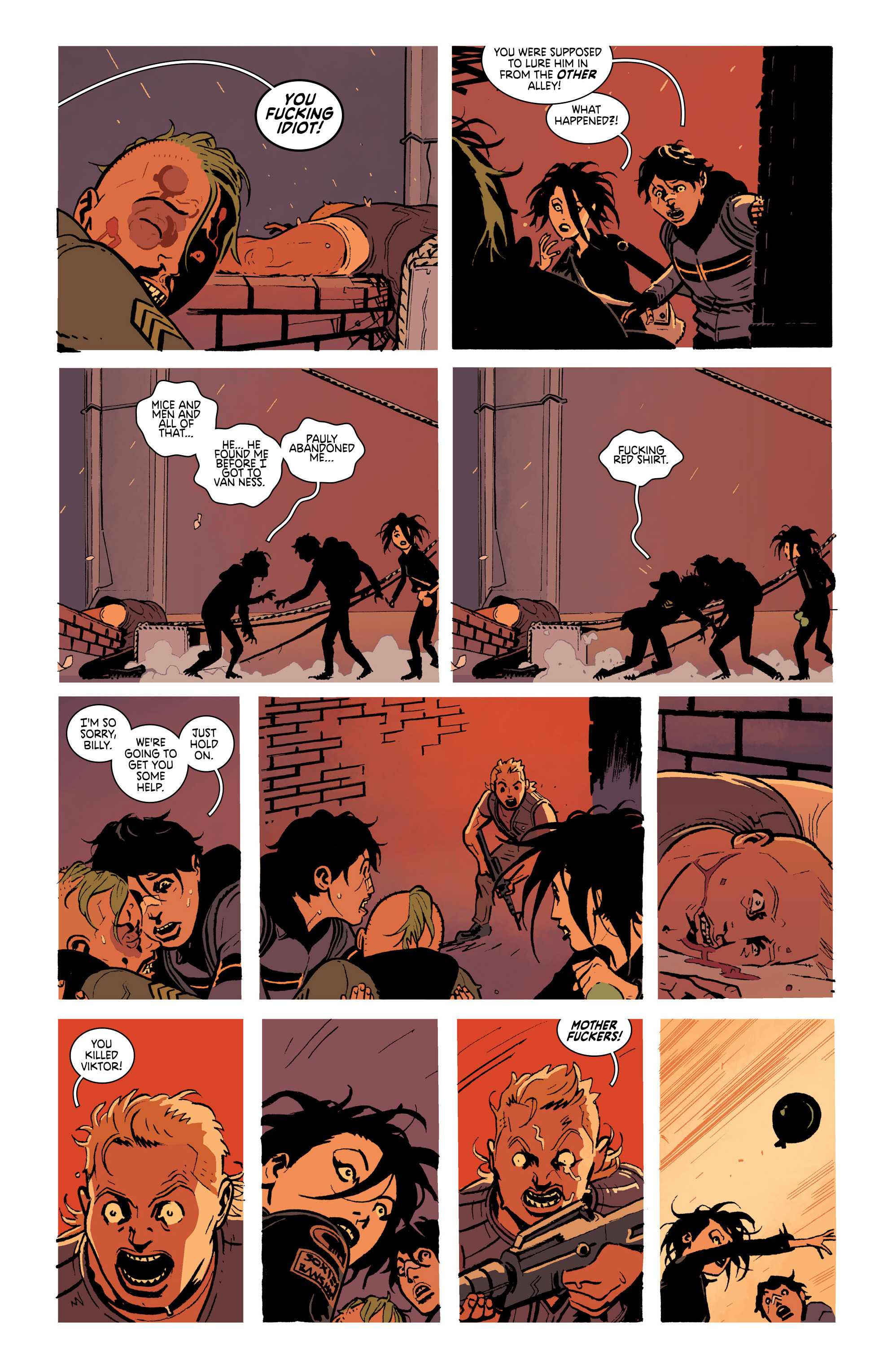 Read online Deadly Class comic -  Issue #19 - 17