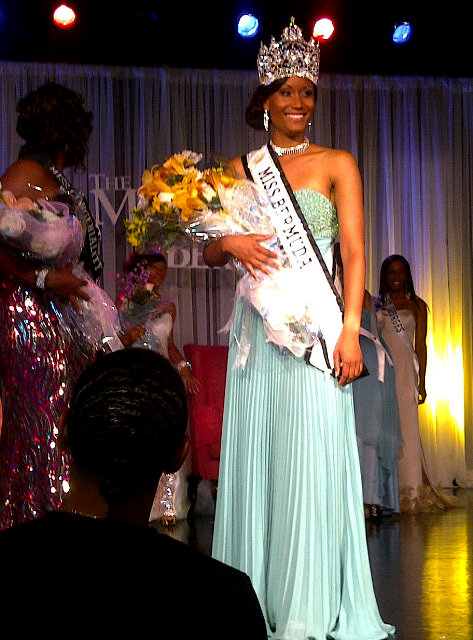 Rochelle Minors Crowned Miss Bermuda 2012