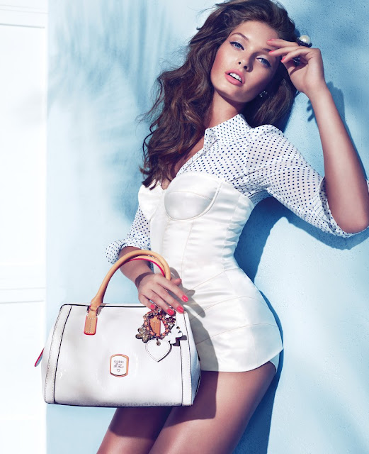 Sandrah Hellberg by Claudia & Ralf Pulmanns for Guess Accessories Holiday 2012 Campaign