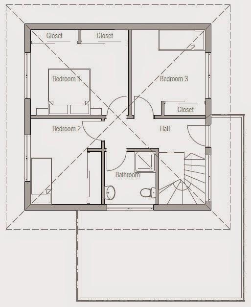 Planos de casa moderna 2 plantas planos de casas gratis for Casa moderna 6x6