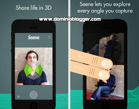 Crea efectos en 3D en tu iPhone o iPad con Seene