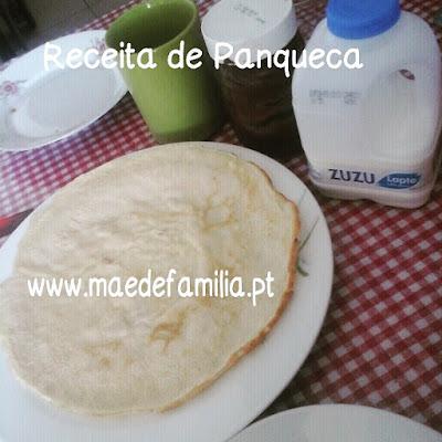Receita de Panqueca /Crepe da Mãe de Família