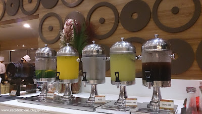 La Fiesta at MOA fruit juices