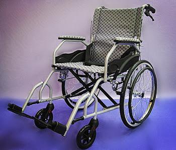Foldable backrest light weight wheelchair 14kg