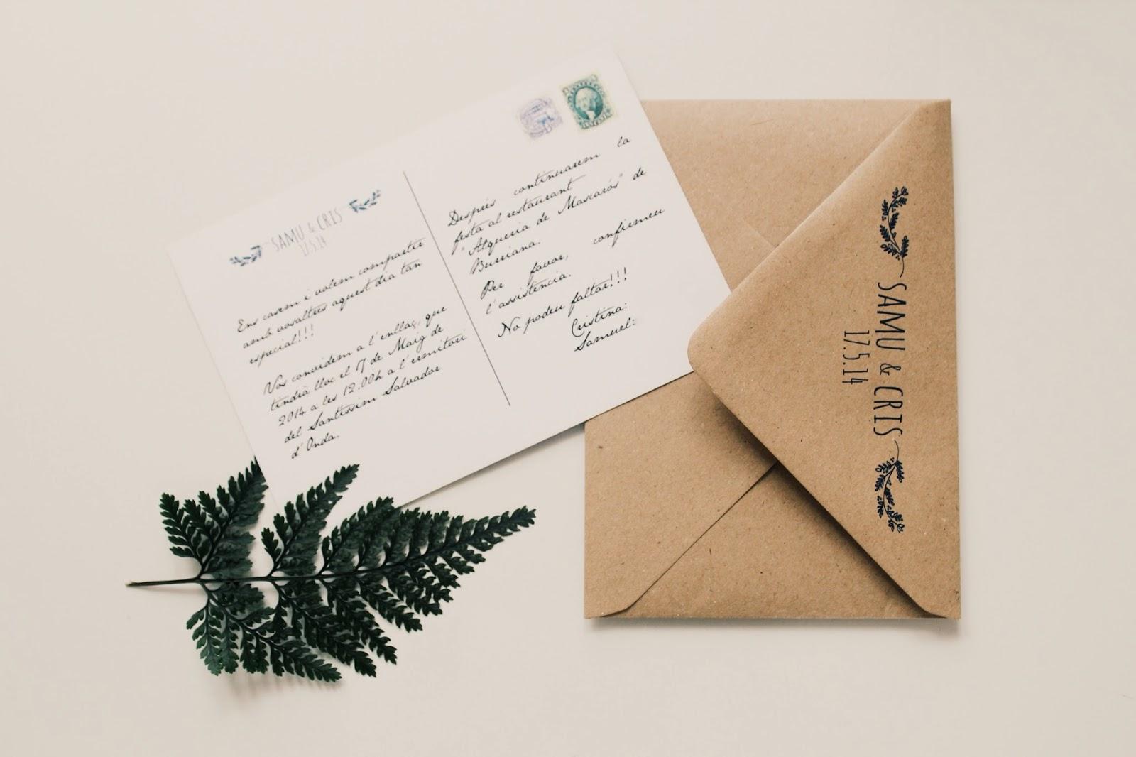 Invitaciones de boda Costo