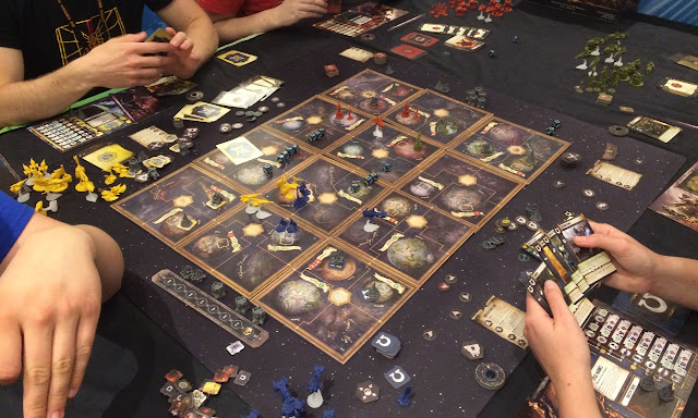 Forbidden Stars at the UK Games Expo