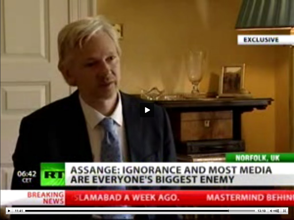 "Home Nature Report: Julian Assange: ""The number one enemy ..."