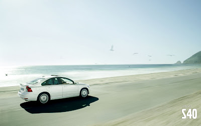 Volvo S40 white photo gallery HQ