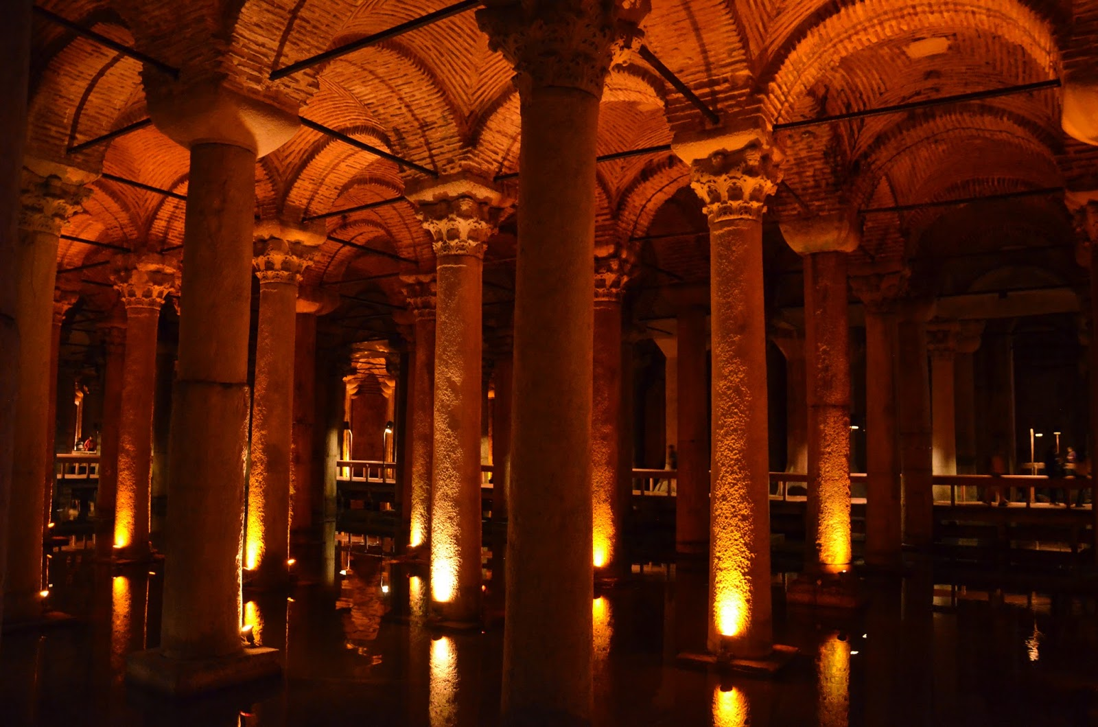 We Took the Road Less Traveled: Istanbul: The Basilica Cistern