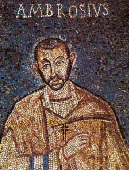SAN AMBROSIO Doctor de la Iglesia (340-397). Fiesta 07 de Diciembre