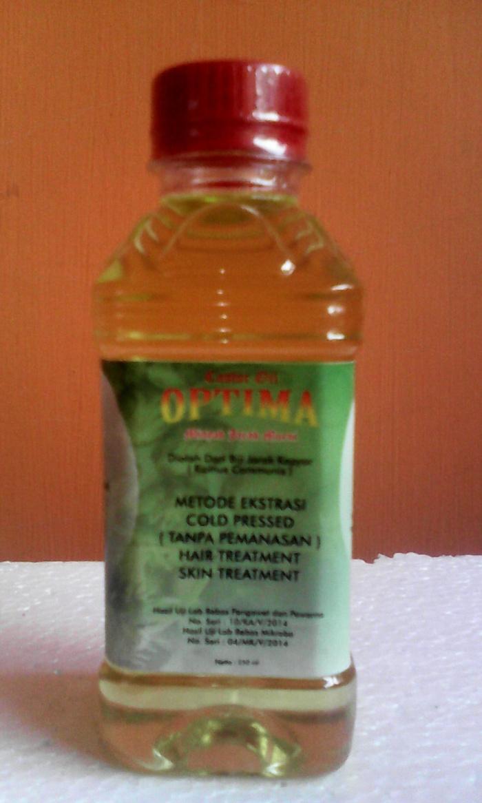 Minyak Jarak Murni 250ml Castor Oil Herbal Kastroli Di Olah Dari Biji Kepyar Ricinus Communis Yang Telah Dikeringkan Dengan Metode Ekstraksi Proses Cara Cold Pressed