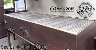 GrillGrate Booth at 2015 National Restaurant Show