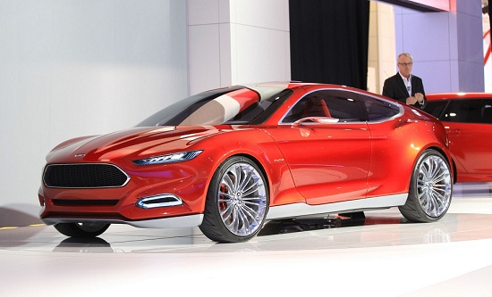 2015 Ford Mustang GT Coupe Concept