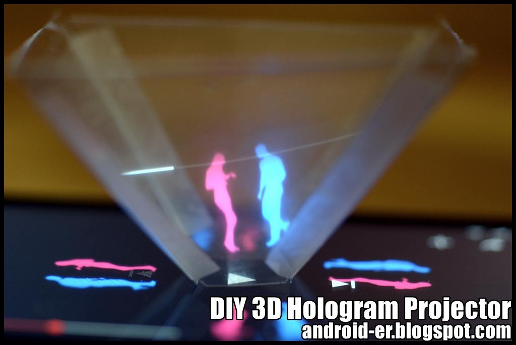 3d голограмма для телефона своими руками
