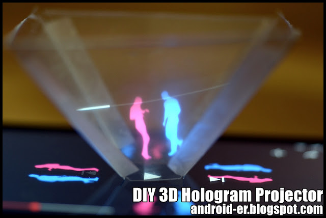 Diy 3D Hologram Projector For Smartphone