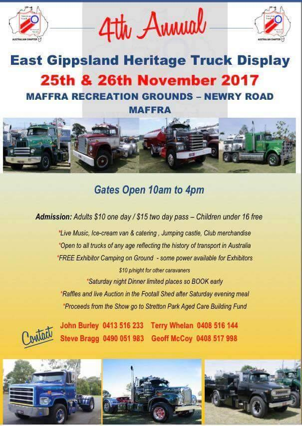 East Gippsland Heritage Truck Display