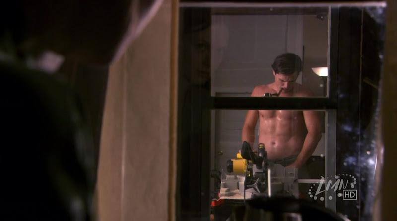 Matthew Settle Shirtless in Nora Roberts' Blue Smoke
