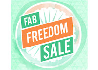 Fab Freedom Sale 69% Off & Extra 35% Off
