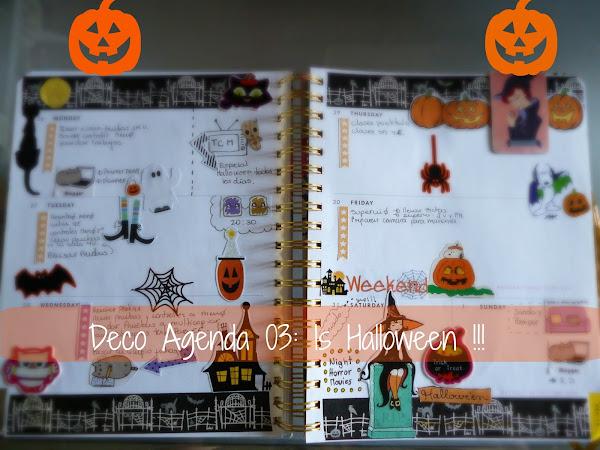 Deco Agenda 03: Is Halloween!!!