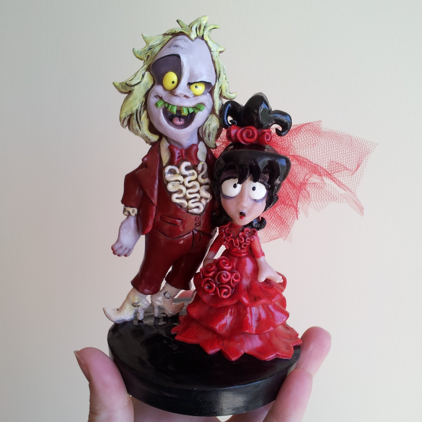 Halloween I Do Cake Toppers