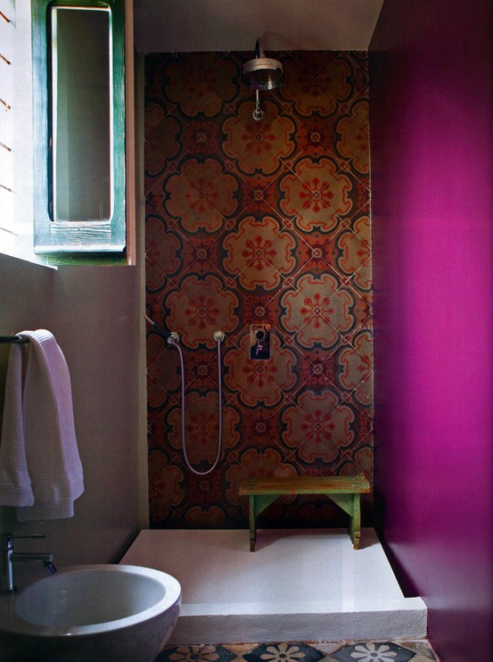 Boho Bathroom On Pinterest Bohemian Bathroom Funky