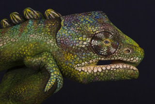 Body painting - By Guido Daniele