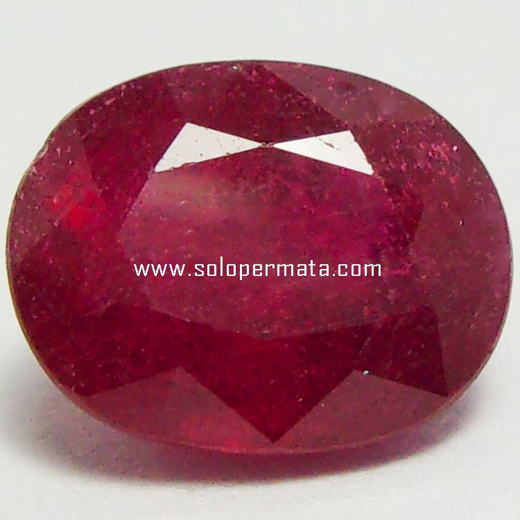 Batu Permata Ruby Asli - 27A05