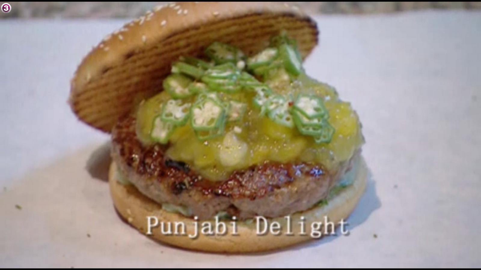 med kniven for struben bella burger