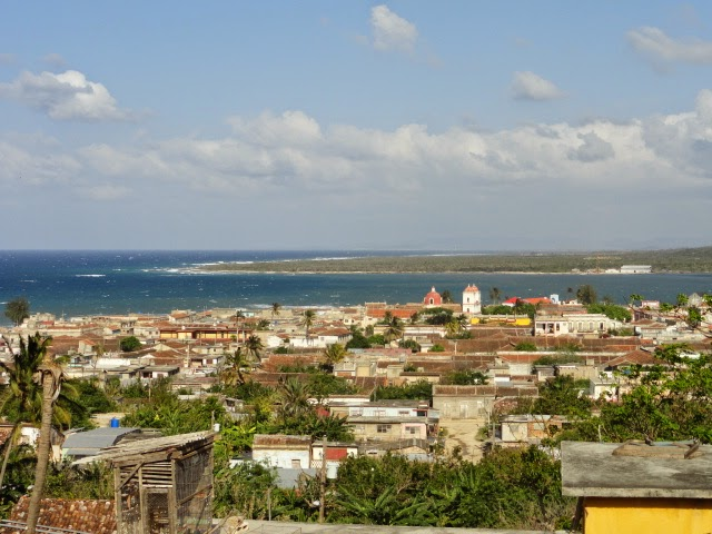 An image of the town of Gibara in Eastern Cuba