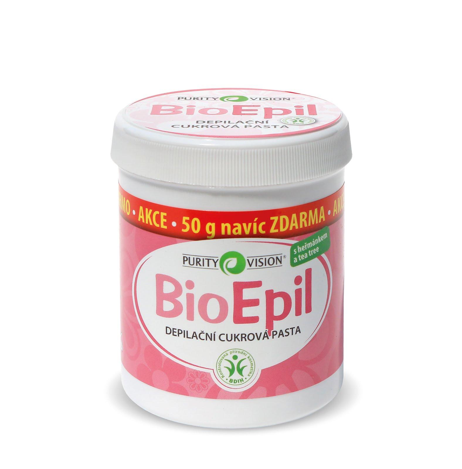 BioEpil Depilační cukrová pasta