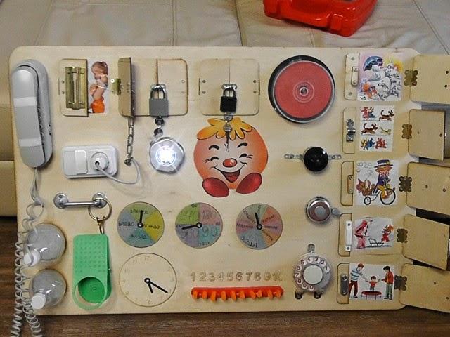 Доска с кнопками для ребенка своими руками 13