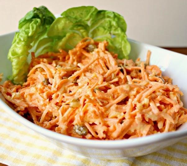 Tropical Carrot Raisin Salad