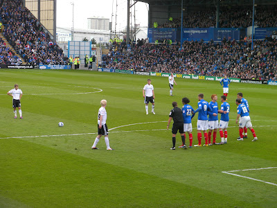 penalty kick derby against portsmouth
