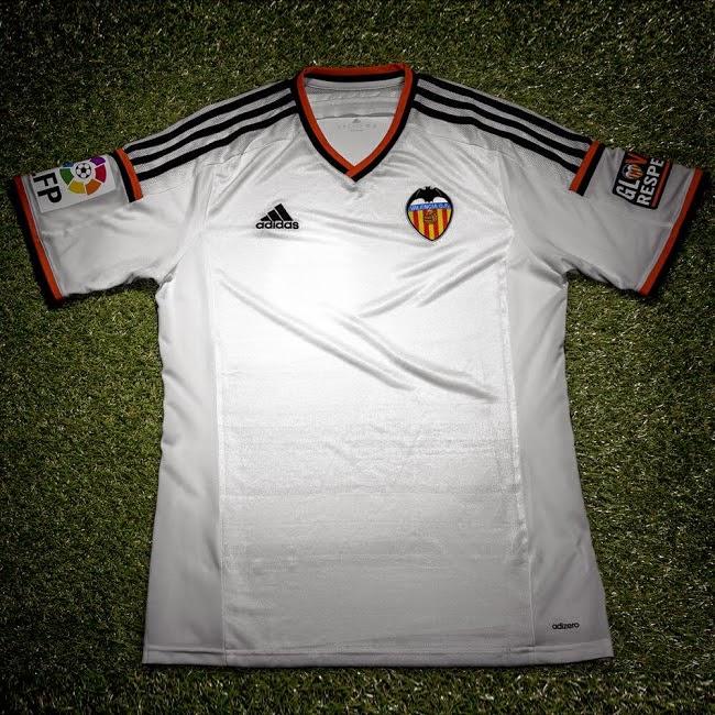 Maillot Domicile Valencia CF achat