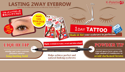 K-Palette 2 Way Eyebrow Liner