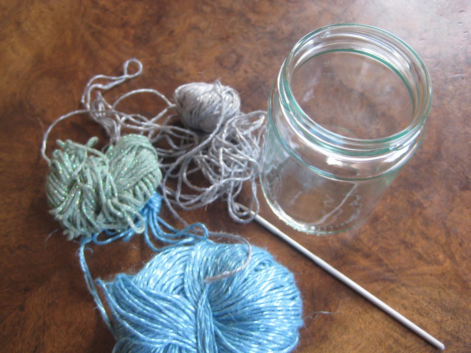 Three Stories High: Crochet Jar Tutorial 1000