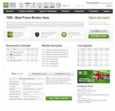 FBS - Best Forex Broker Asia