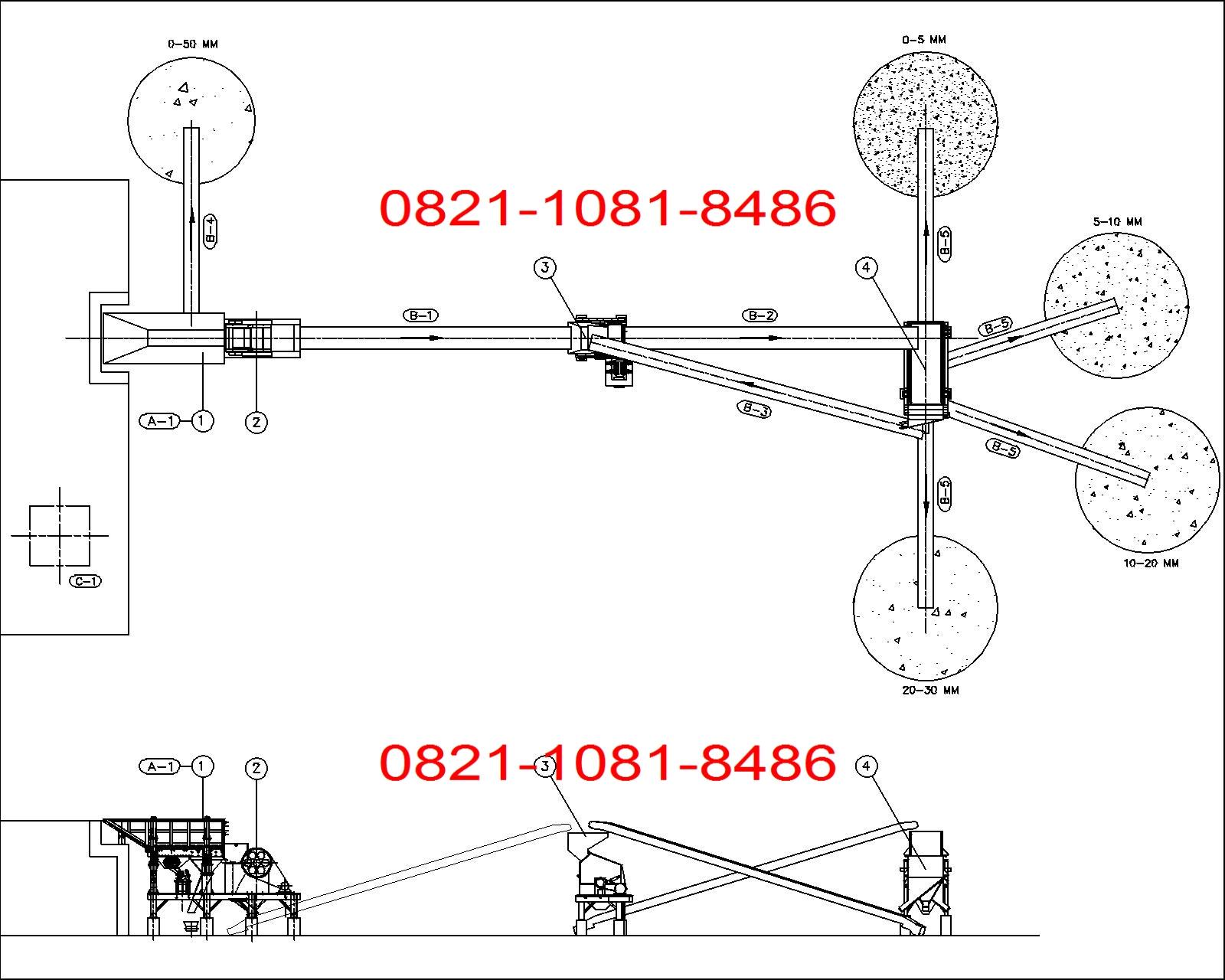 Jual Stone Crusher Plant 80 100 Tph Sand Making Wiring Diagram Daihatsu Taft Rocky Flow Lay Out