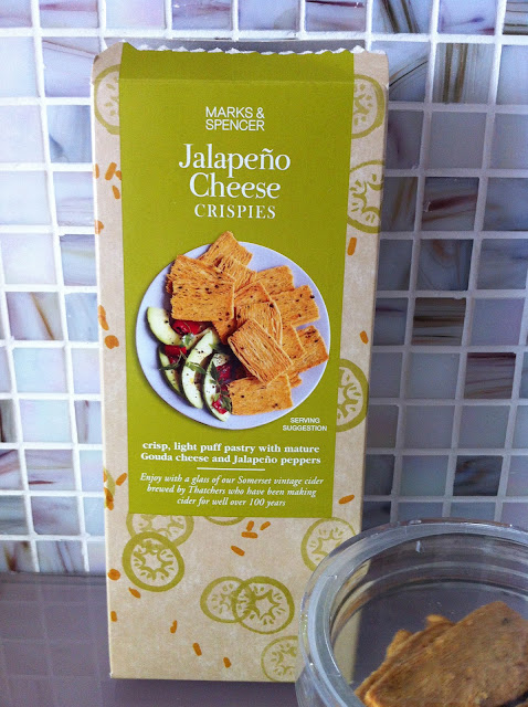 Mark's and Spencer Jalapeno Cheese Crispies