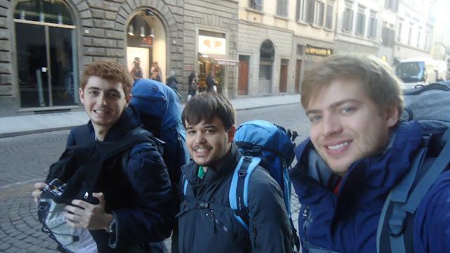 Os 3 mochileiros