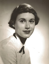 Grandmother Jan Bevan-Gelman, in the early 1950's