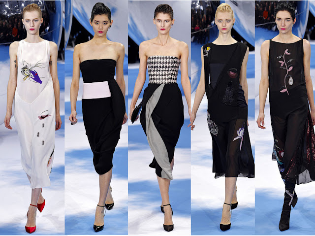 Dior Fall 2013 RTW Collection - Evening Dresses