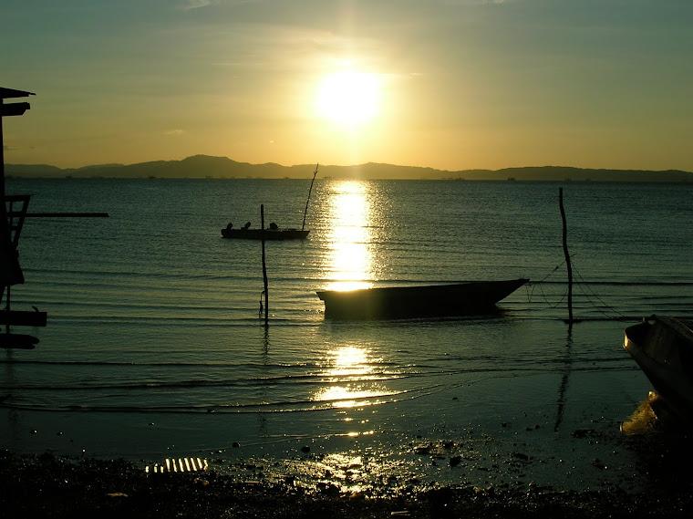 Sunset Belakang Rumah (Kampung Ayah)