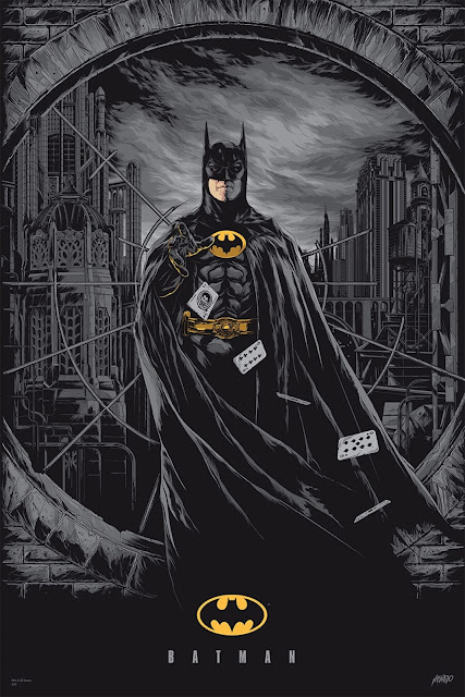 MondoCon 2015 Exclusive Batman '89 Variant Screen Print by Ken Taylor x Mondo