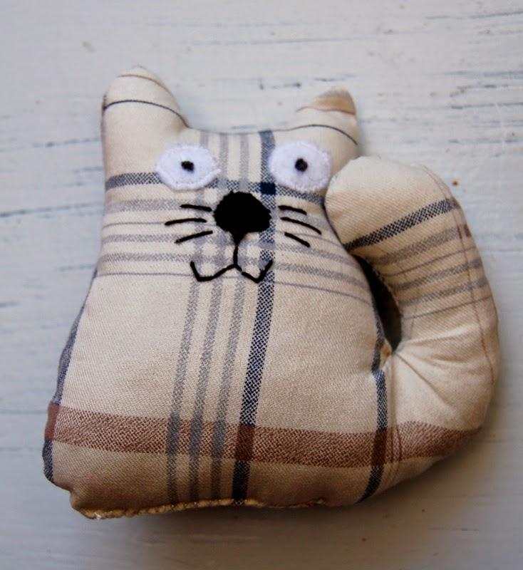 kot rękodzieło