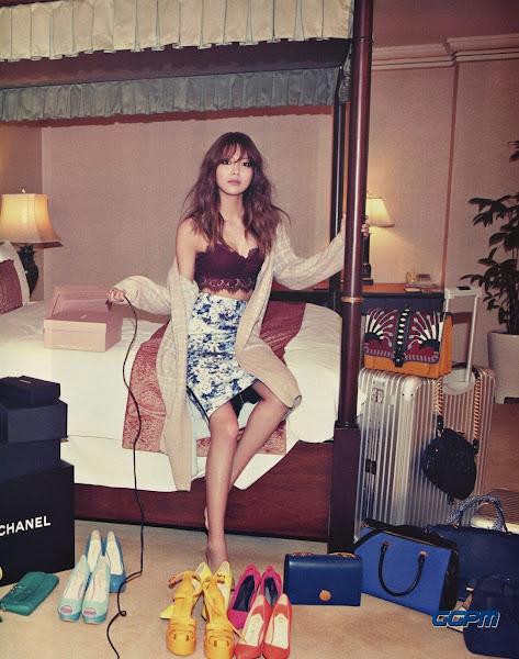 Sooyoung SNSD Nylon February 2015