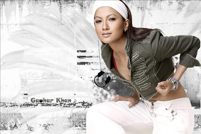 Gauhar Khan in Game